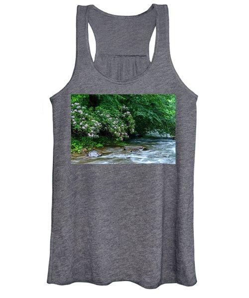 Summer Along Birch River Women's Tank Top