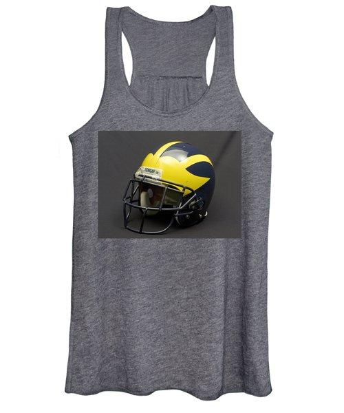 2000s Era Wolverine Helmet Women's Tank Top