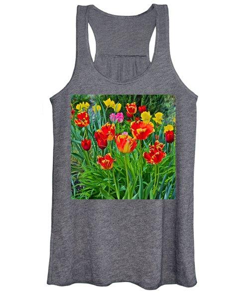 2015 Acewood Tulips 6 Women's Tank Top