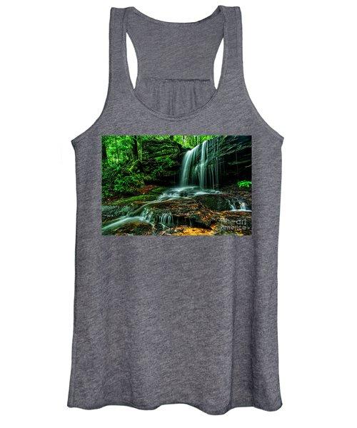 West Virginia Waterfall Women's Tank Top