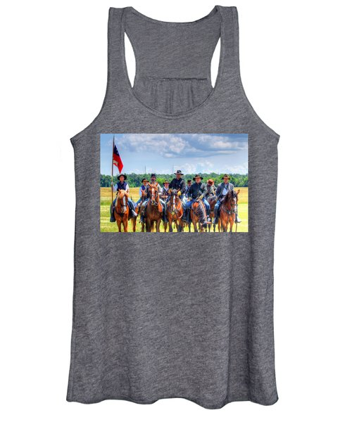 Women's Tank Top featuring the photograph 2nd Us Cavalry  by Pete Federico