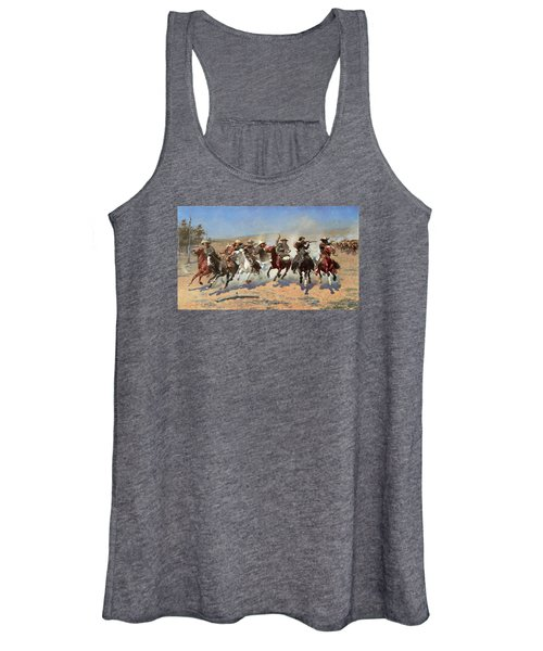 A Dash For The Timber Women's Tank Top