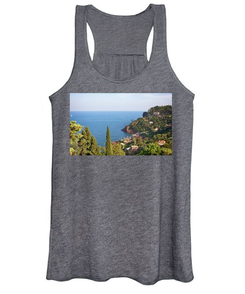 French Mediterranean Coastline Women's Tank Top