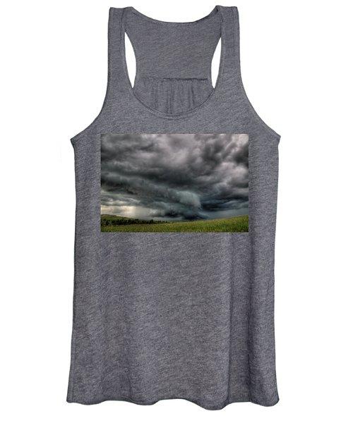 North Dakota Thunderstorm Women's Tank Top