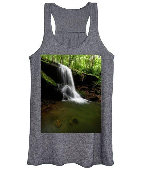 Otter Falls - Seven Devils, North Carolina Women's Tank Top