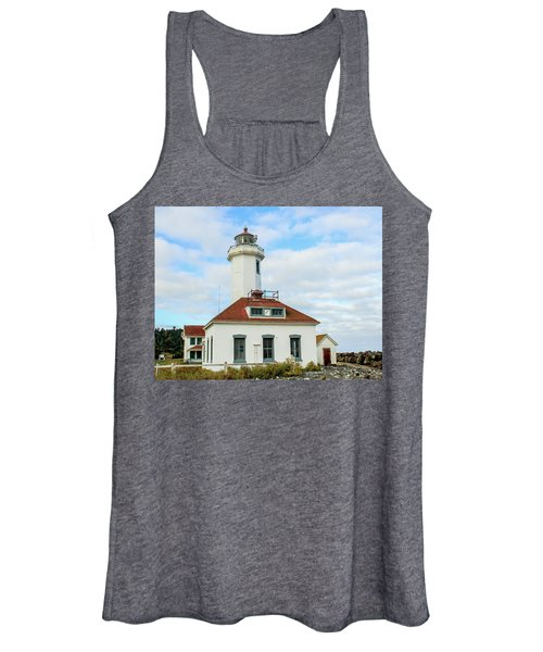 Point Wilson Lighthouse Women's Tank Top