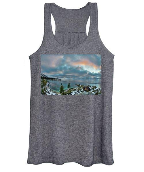 Sand Harbor Sunset Women's Tank Top
