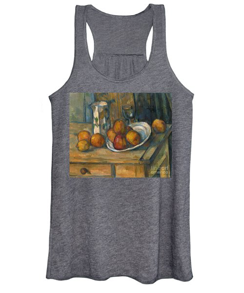 Still Life With Milk Jug And Fruit Women's Tank Top