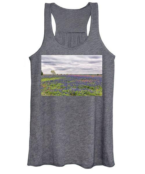 Texas Wildflowers 2 Women's Tank Top