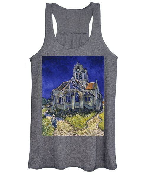 The Church At Auvers Women's Tank Top