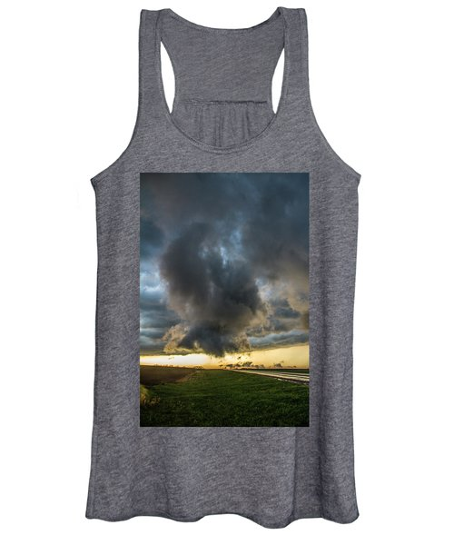 3rd Storm Chase Of 2018 050 Women's Tank Top