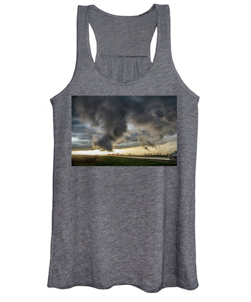 3rd Storm Chase Of 2018 051 Women's Tank Top