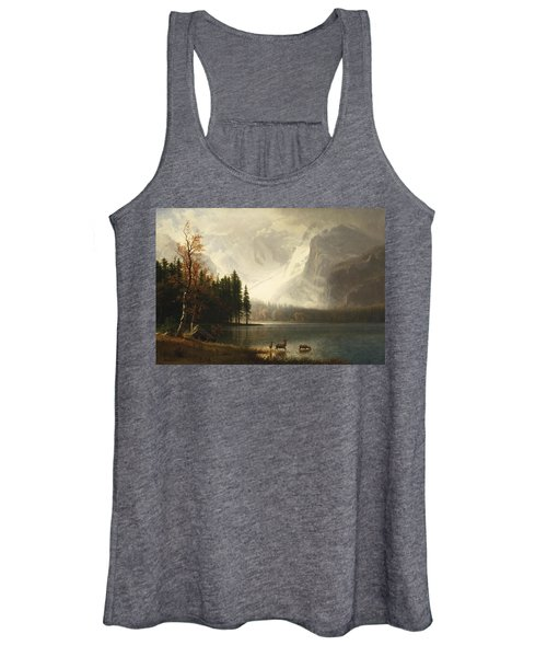 Estes Park, Colorado, Whyte's Lake Women's Tank Top