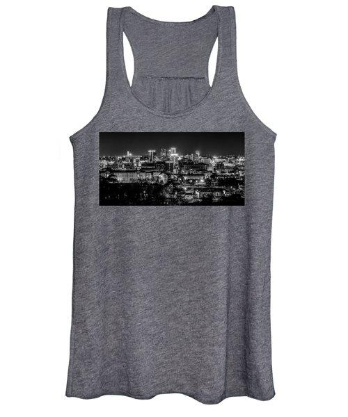 Birmingham Alabama Evening Skyline Women's Tank Top