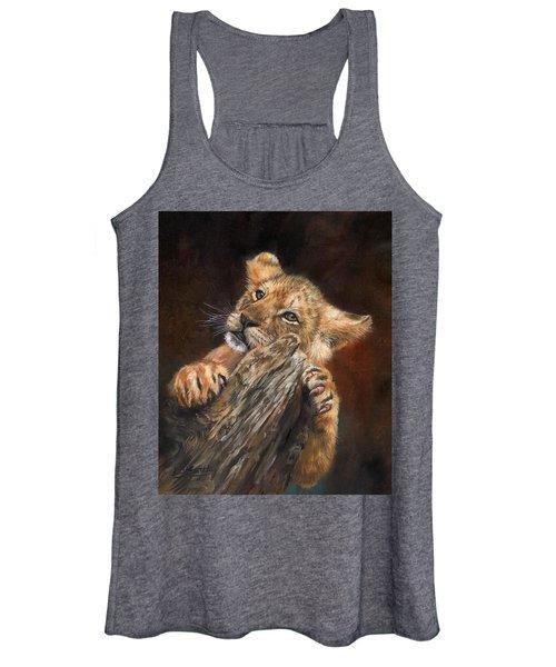 Lion Cub Women's Tank Top