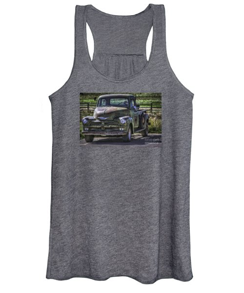 54 Chevy 3600 Stepside Women's Tank Top