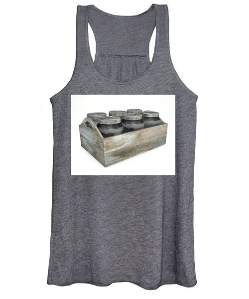 Whiskey Jars In A Crate Women's Tank Top