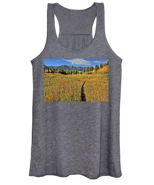 Rocky Mountain Fall Women's Tank Top