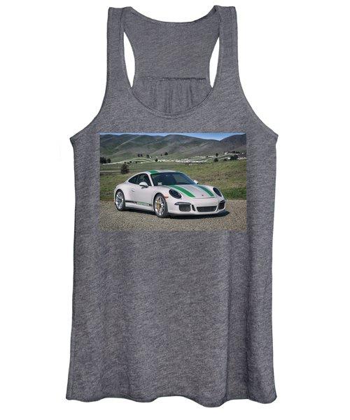 #porsche #911r #print Women's Tank Top