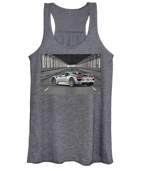 Porsche 918 Spyder  Women's Tank Top