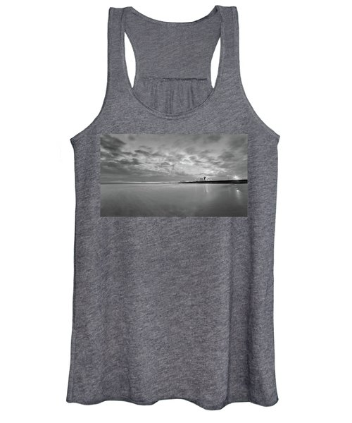 A Beach And A Bunch Of Boats Women's Tank Top