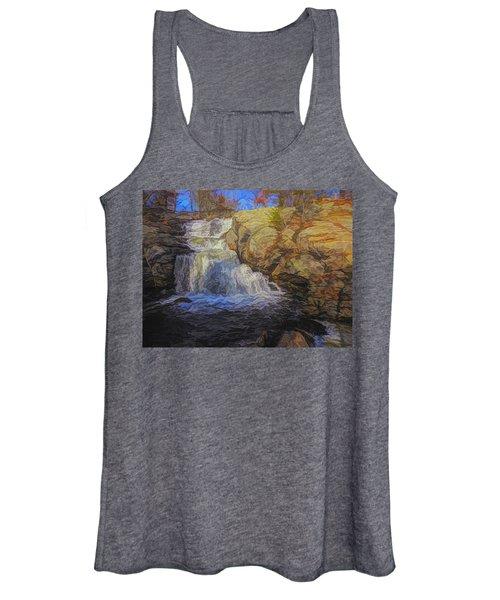 A Beautiful Connecticut Waterfall. Women's Tank Top