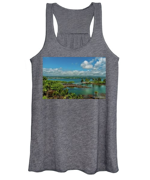 A Beautiful Day Over Hilo Bay Women's Tank Top