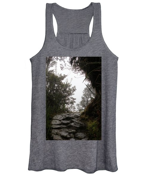 A Bend In The Path Women's Tank Top