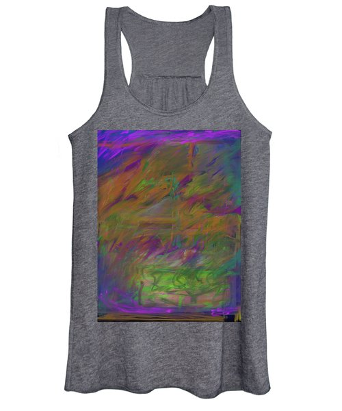 A Brush With The Edge Women's Tank Top