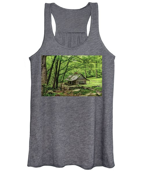 A Cabin In The Woods Women's Tank Top