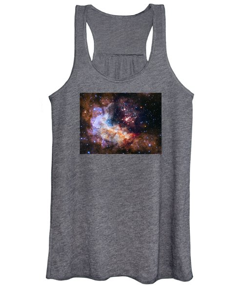 a giant cluster of about 3,000 stars called Westerlund Women's Tank Top
