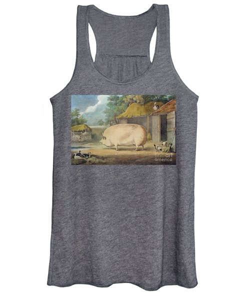A Leicester Sow Women's Tank Top