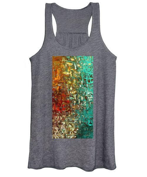 A Moment In Time - Abstract Art Women's Tank Top