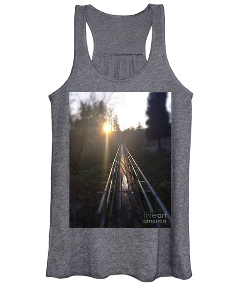 A Path Into The Unknown Women's Tank Top