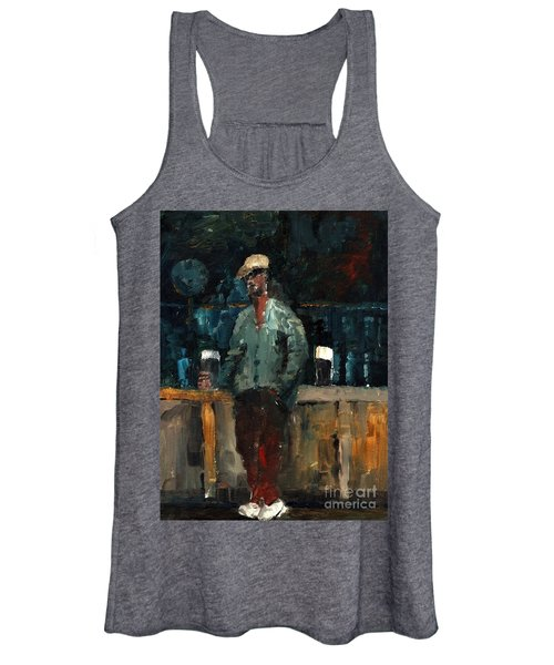 F 772  Holy Hour A Pint And A Spare. Women's Tank Top