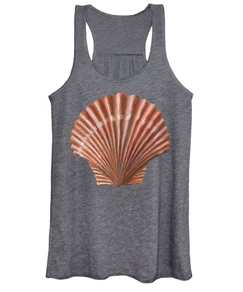 A Quincunx Of Scallop Shells Women's Tank Top