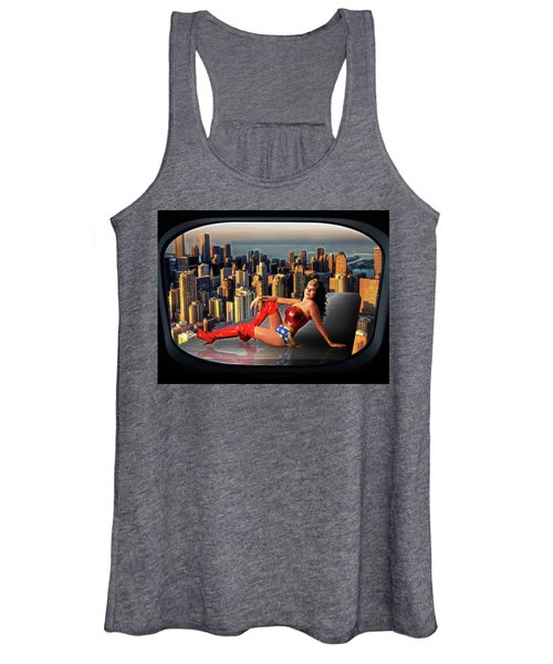 A Seat With A View Women's Tank Top