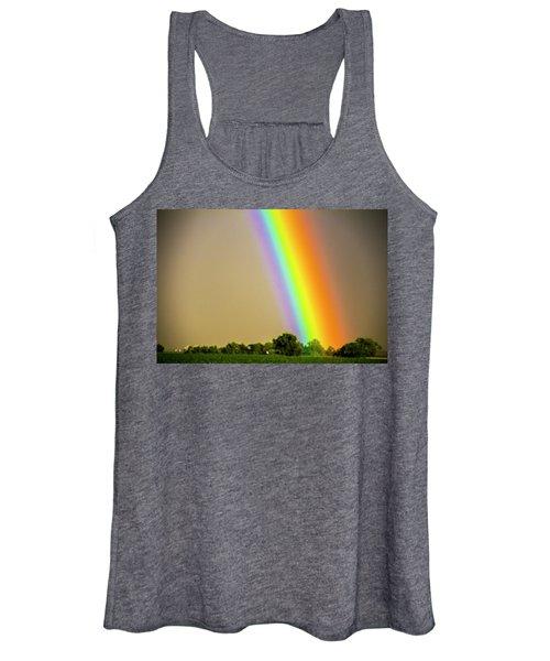 A Spectrum Of Nebraska 002 Women's Tank Top