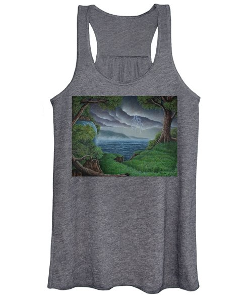 A Storm Is Coming Women's Tank Top