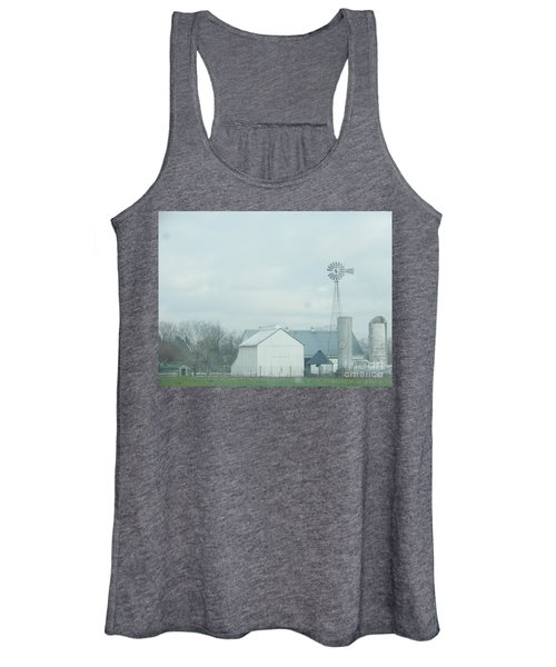 A Storm Moves In Women's Tank Top