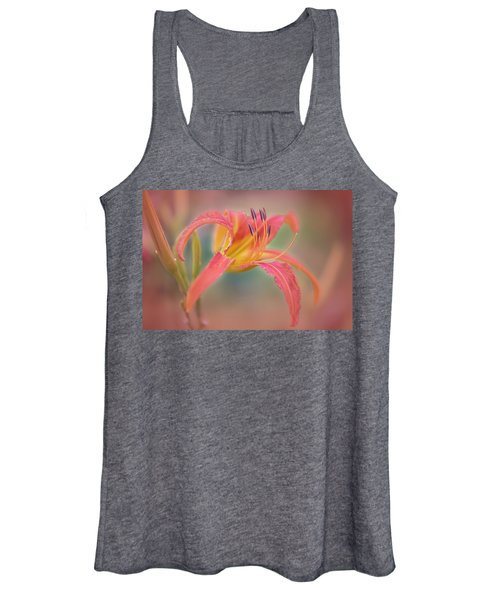 A Thing Of Beauty Lasts Only For A Day. Women's Tank Top