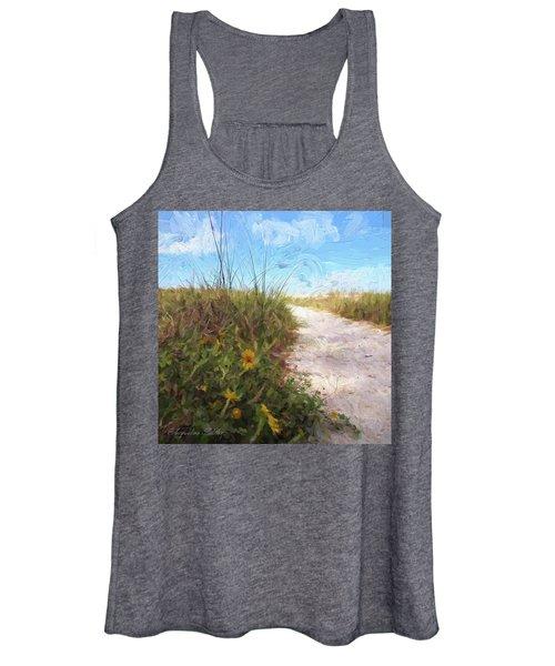 A Trail To The Beach Women's Tank Top