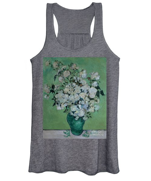 A Vase Of Roses Women's Tank Top