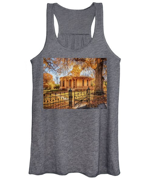 A Victorian Autumn Women's Tank Top