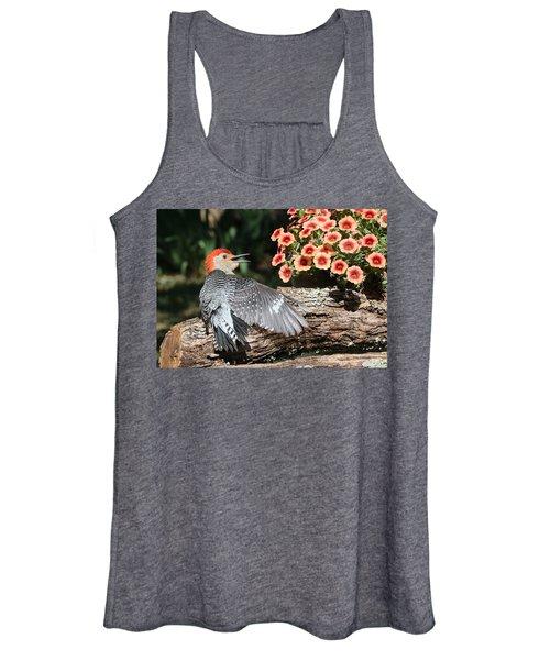 A Woodpecker Conversation Women's Tank Top