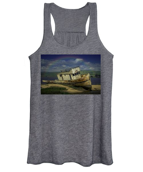 Abandonded Old Boat Women's Tank Top