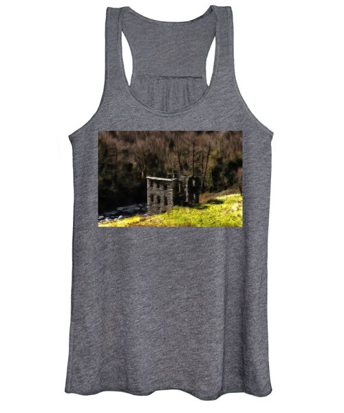 Abandoned Mill What Remains ... Women's Tank Top