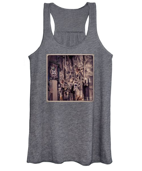Abandoned Puerto Rico Women's Tank Top