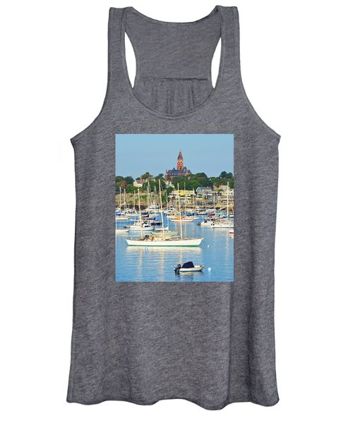 Abbot Hall Over Marblehead Harbor From Chandler Hovey Park Women's Tank Top
