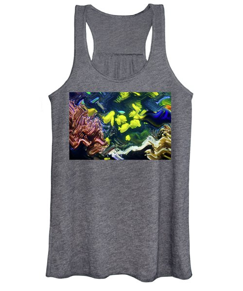 Abstract Dancing Colorful Ish Women's Tank Top